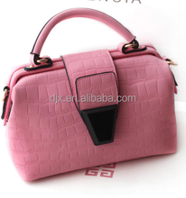 Manufacture wholesale women bag fashion 2015 leather factory lady handbag