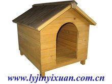 puppy wooden kennel