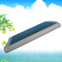 Satisfactory Prices All in one led Solar Street Lights/Solar Street Lamp 20W IP66 With Bridgelux LED Chip