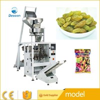 Cup metering automatic packing machine for Green raisins granule packing machine