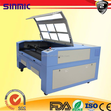 glass and diy gift design cnc laser cutting and engraving Machine with two heads 1400*1000 mm Chinese factory price