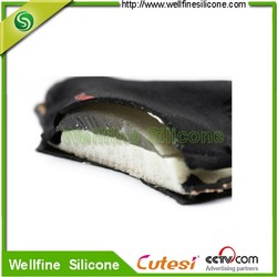 silicon gel seat cover/saddle pads for mountain bike