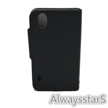 Luxury Leather Flip Wallet Cover Case For LG P970