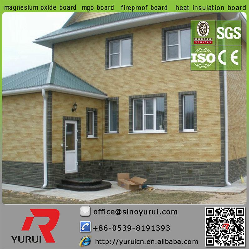 Mineral Board Siding : Yurui decorative faux brick siding mineral board buy
