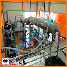 New technology crude oil refinery ! ZSA china lubricating oil recovering