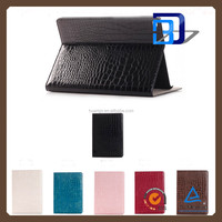 Newest Stylish Crocodile pattern Texture Pattern Stnad Cover PU Leather Cover case For iPad pro tablet case fast delivery