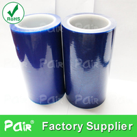 Blue low adhesive plastic stretch Urltra-Light in Roll Poly Ethylene PE film