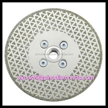 "7"" Diameter with flange Diamond double blade concrete saw"