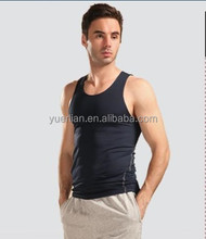 Men Sports Training Bodybuilding Tight Vest Tank Top Gym Basketball Jersey Vest Quick-dry Tops Undershirt Hot Sale 1001
