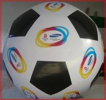 logo printing balloon PVC football/ football floating hydrogen balloon /festival opening ceremony of advertising