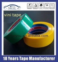 VINI Tape with High strength pvc electrical code wire insulation tape