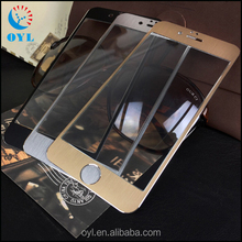 OYL 99% transparent film glass for iphone6 plus 9H tempered mobile phone glass