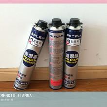 Waterproof polyurethane foam PU foam sealant 80% foam instantly