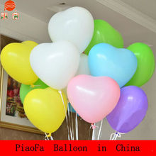 Heart advertising inflatable helium balloon