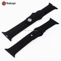 2015 New Products Made in China Alibaba High Quality Fashionable Silicone Watch Band for Apple Watch Strap