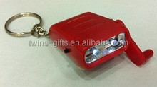 Popular keychain flashlight flat led flashlight