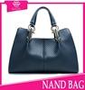 hot! new elegant casual tote bags trendy beach bags 2015 studded handbag fabric bags wholesale durable cheap handbags from China
