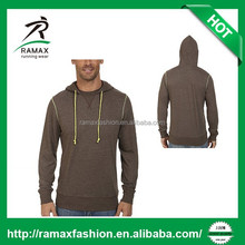 Ramax Custom Men Cotton and Polyester Blend Single Jersey Hoodies