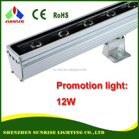 Lowest price IP65 outdoor 12W LED wall washer light