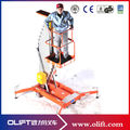 hidráulica braço de alumínio de escalada plataforma de trabalho aéreo preço