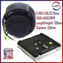 48/72 Volt Air Cooled 5000W EV electric car motor conversion kit
