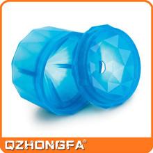 wholesale ice cube tray, custom small diamond shape silicone ice cube tray