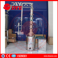 Mini home moonshine distillation equipment ethanol distiller