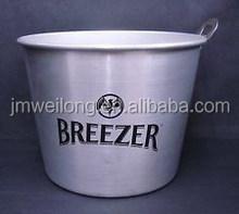 Top Supplier on BBQ Bucket/Party Vodka Container/Zinc Metal Garden Beer Bucket/Pails