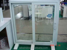 modern design LG pvc sliding windows, competitive price pvc windows with grill design