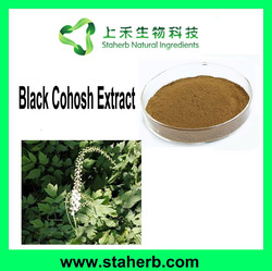 Manufacturer Supplier 2.5% Triterpenoid Saponins Black Cohosh Extract Black Cohosh P.E.