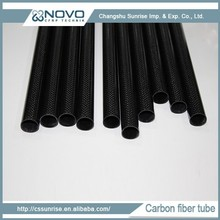 2015 Hot selling products high quality carbon fiber pipe round hollow tube