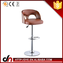 PU plywood frame gas lift PU plywood frame used restaurant bar stools,abs swivel bar chair,wholesale pu seat bar stool
