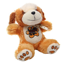 Handmade Plush Toys lovely plush toy pug dog products with Embroidery