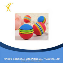 2016 wholesale fashion rainbow dog cat zorb toys pet ball