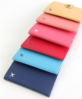 business trip gifts PU embossed leather passport cover