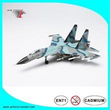 SU-27 Flanker heavy fighter jet model, hobby model toy