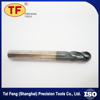 Low Cost Carbide Steel Iron Cast Top Level Ball Nose End Mill Parts