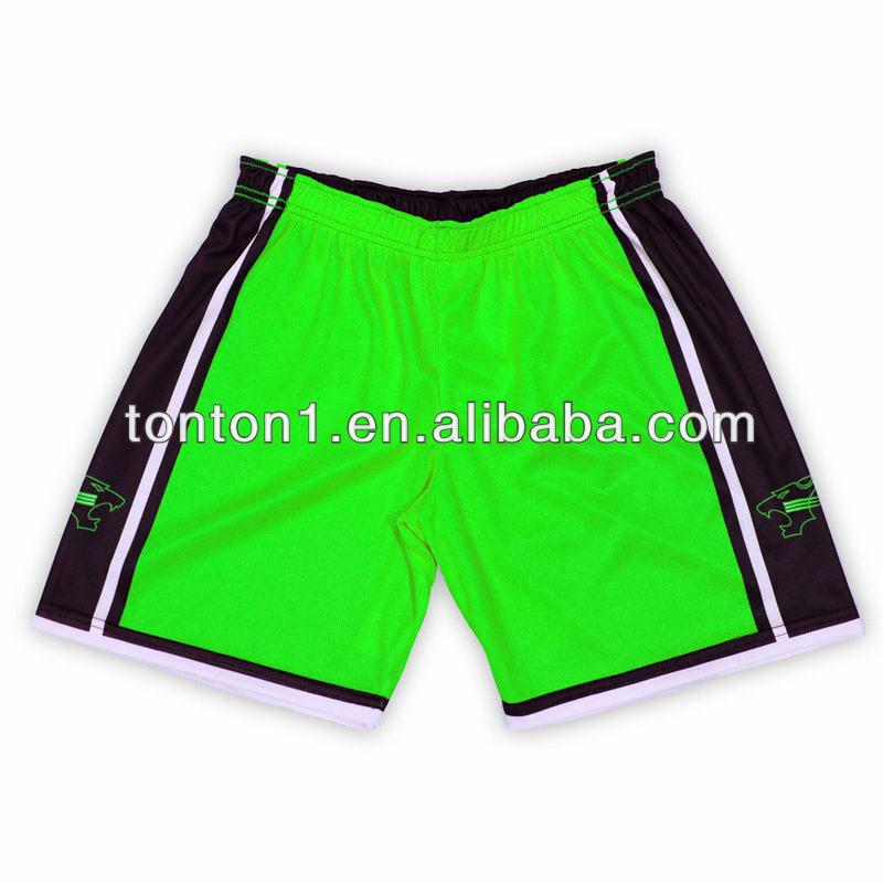 verde pantalones cortos de baloncesto