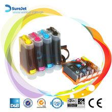 Reset chip ciss tank for Canon PIXMA IX4000 iP3300 iP3500 MP510 MP520 inkjet ink cartridge wholesale china