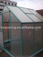 greenhouse pc hollow sheet