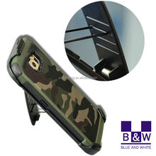 2016 Mobile Phones Accessories Ultra Thin Shockproof Cool Camouflage Color 2 in 1 Hybrid Case For iPhone 6 Apple