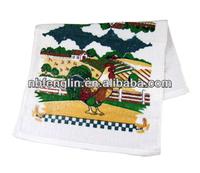 "Velvet Kitchen Tea Towel 15""x25""Custom Printed Cotton Towel"