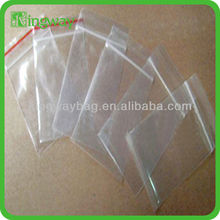 large garments with pe clear plastic zipper bag with handle