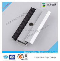 Aluminum thin film pv solar panel clamp