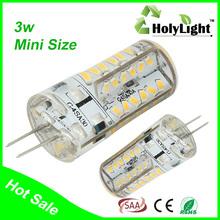 Top sale 1.5W 3W Ceramic Silicon G4 led bulb