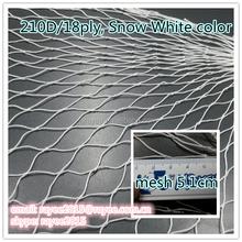 210d/18ply twine Nylon Multi Net using to plant fish in deep sea, Red de pesca, filet de peche