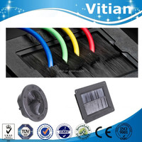 Vitian raised access floor plastic cable air brush grommets for office room