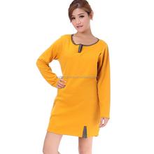 2014 good sale cotton fashion design blue korean maternity fashion AK048