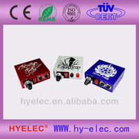 low voltage HYelec mini Tattoo power supply
