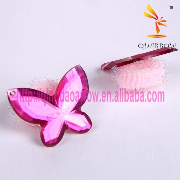 Fashion Girl's Hair Accessories Hair Bands In PVC Handle Bag